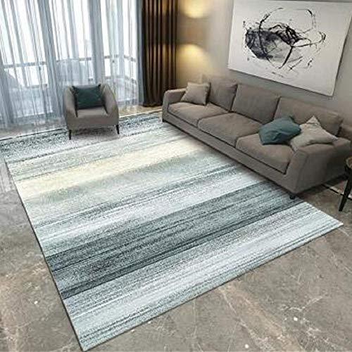 Pasillo Cocina Escalera Diseño Moderno,Alfombra Decorativa antiestática de gradiente Plano Simple de Ocio Interior-El 120x180cm