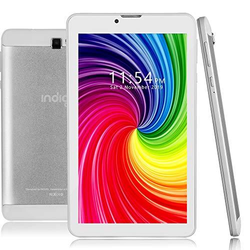 Indigi Nuevo 7 pulgadas 4G LTE Android 9.0 2 en 1 SmartPhone TabletPC con microSD de 32 GB y EarBud incluido