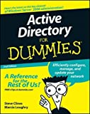 Active Directory For Dummies by Steve Clines Marcia Loughry (2008-08-11)