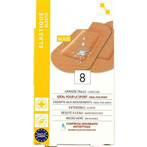 Eurosirel - grote dressings maat 7 x 4,8 cm, ideaal voor sport, 8 kamers, speciale ellebogen en kniegewrichten