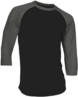 Best t shirt 3/4 sleeve Reviews