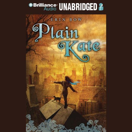 Plain Kate audiobook cover art
