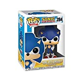 Lotoy Funko Pop Games : Super Sonic - Sonic with Emeralo (Diamond Version) 3.9inch Vinyl Gift for Boys Games Fans Gift