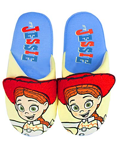Disney Pixar Juguete Story Jessie Parcial Pantuflas de Mujer 3D