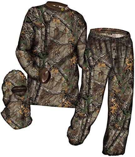 HECS Hunting 3-Piece Camo Suit - Hunting Apparel for Men - Mossy Oak Break-Up...