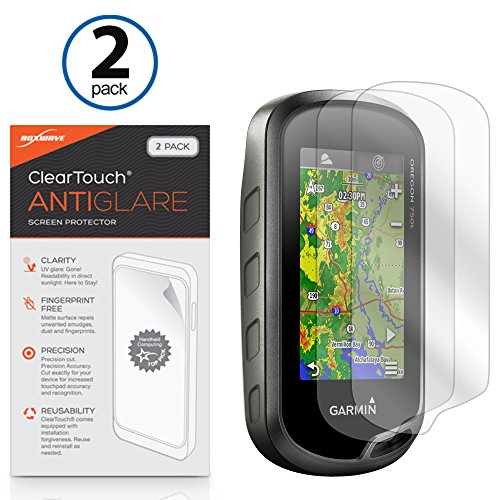 Multitouch Optimized Strong Scratch Protection Matte and Anti-Glare upscreen Reflection Shield Matte Screen Protector for Garmin echoMAP Chirp 72sv