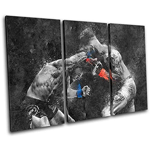 Gyybfhn Framed Print Artwork Sports Wall Art Decor Poster Artworks For Homes Painting On Canvas 3 Panel Canvas Prints Picture For Home Office Decor Gift 50X70Cmx3 Total Size 150X70Cm