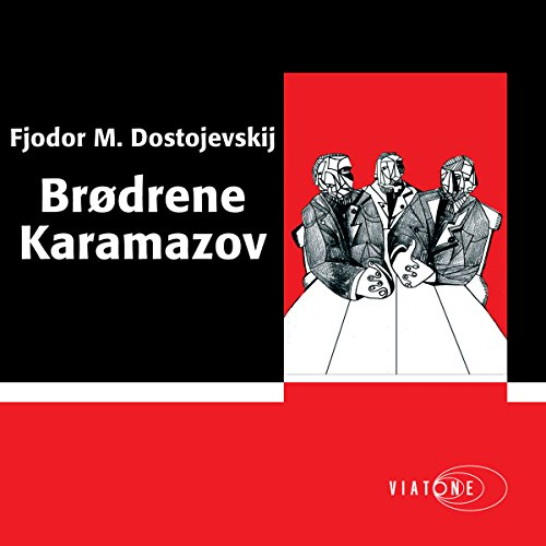 Brødrene Karamazov [The Brothers Karamazov] cover art
