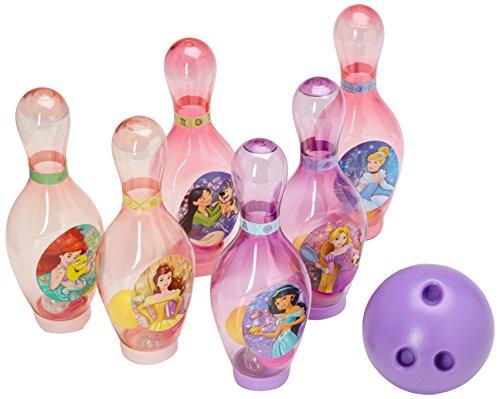 Disney 29908prn Princess Light Bowling Set