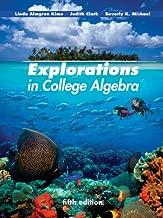 Best explorations in college algebra kime Reviews
