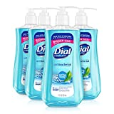 Dial Antibacterial Liquid Hand Soap, Spring Water, 11 Ounce (Pack of 4)