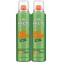 2-Count Garnier Hair Care Fructis Style Frizz Guard Anti-Frizz Dry Spray