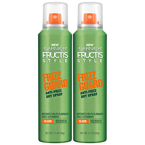 Garnier Hair Care Fructis Style Frizz Guard Anti-Frizz Dry Spray, 2Count