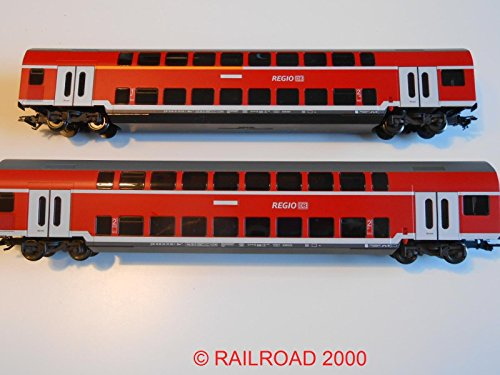 Märklin Set Doppelstock-Nahverkehrswagen der DB, aus 29479