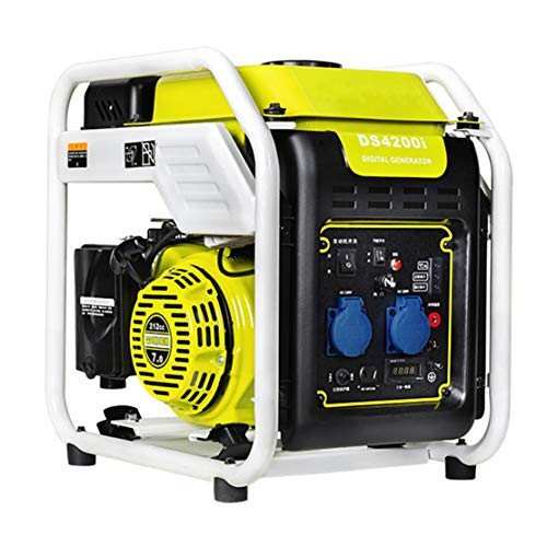 HIOD Stromerzeuger Stromaggregat Stromgenerator Benzin Inverter Generator Leiser Notstromaggregat 3500w 3.5 kva 220v Reine Sinuswelle zum Camping Zuhause RV