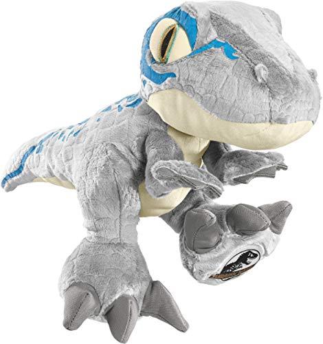 Schmidt Spiele 42753 Jurassic World, Blue, 30 cm Plüschfigur