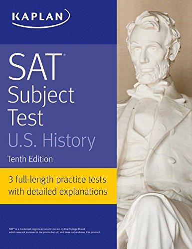 SAT Subject Test U.S. History (Kaplan Test Prep) (English Edition)