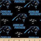 NFL Cotton Broadcloth Carolina Panthers...