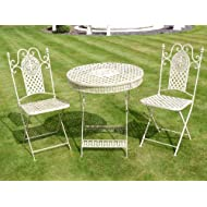 French Ornate Wrought Garden Furniture