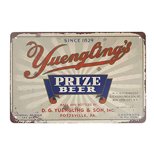 Jesiceny New Tin Sign 1933 Yuengling