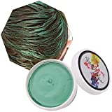 Cera Cabello Para Pelo Unisexo Cera para el cabello Lavable Tinte Temporal Capilares Apta para fiesta Halloween Navidad-Verde