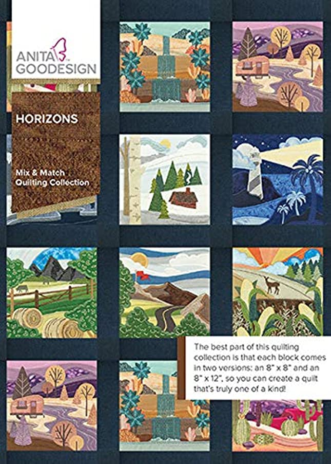 Anita Goodesign Embroidery Machine Designs CD Horizon