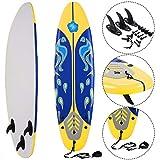 Giantex 6' Surfboard Surfing Surf Beach Ocean Body Foamie Board with...