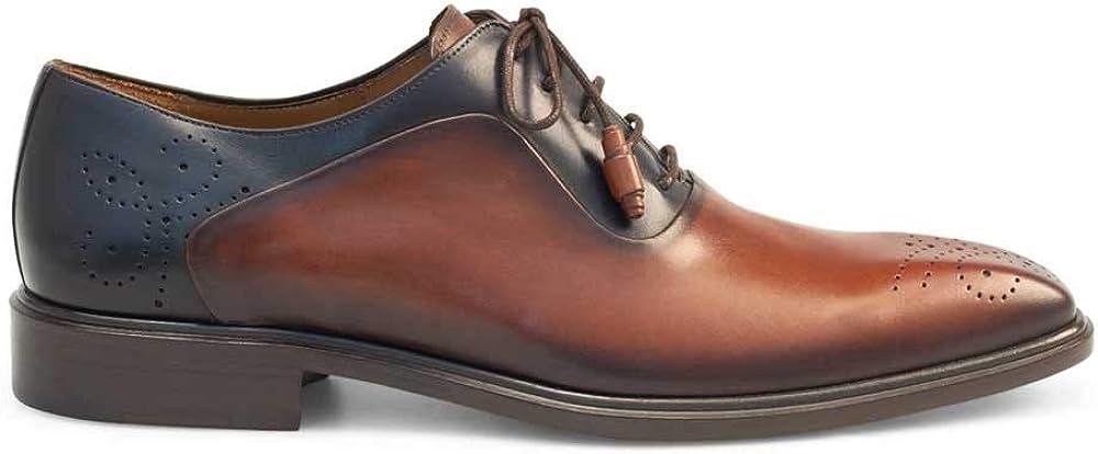 Mezlan Mens 9271 Calfskin Oxford Shoes