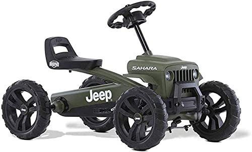 Berg Pedal Car Buzzy Jeep Sahara | Pedal Go Kart, Ride On Toys for Boys and Girls, Toddler Ride on Toys, Outdoor Toys...