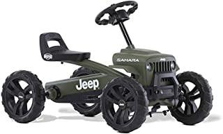 Berg Jeep Buzzy Sahara Pedal Go Kart Green