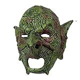 BODAN Máscara de juego de rol, máscara de duende, máscara de orco, máscara de gnomo, de látex, disfraz de Halloween, carnaval, accesorios para casco (color : máscara de duende, tamaño: M)