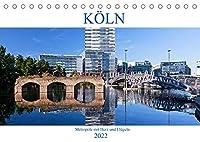 KOeLN - Metropole mit Herz und Fluegeln (Tischkalender 2022 DIN A5 quer): Koeln - Eine Millionenstadt mit Flair (Monatskalender, 14 Seiten )