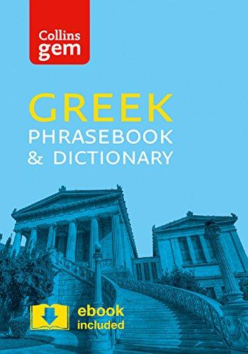 Collins Greek Phrasebook and Dictionary Gem Edition (Collins Gem)