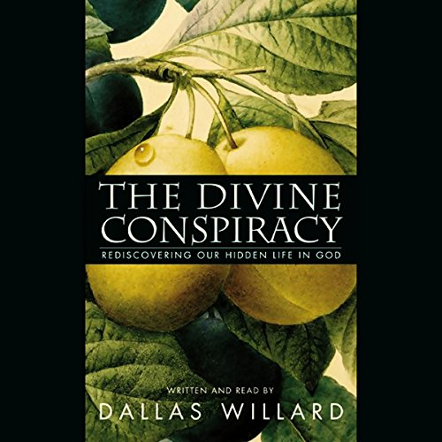 The Divine Conspiracy audiobook cover art