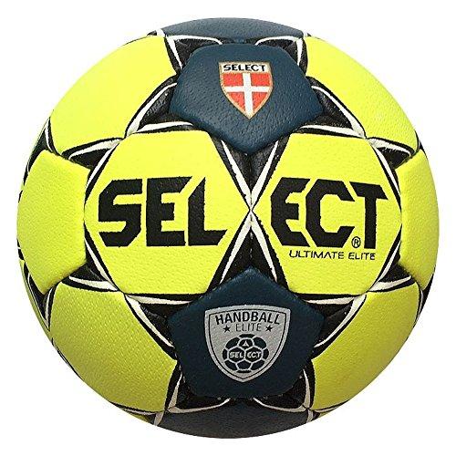 Select Elite Ultimate Handball Größe 2 NEONGELB/SCHWARZ, Größe 2
