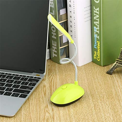 Luminária flexível Decorativa Para leitura/Estudos 18cmm 360º (Verde)