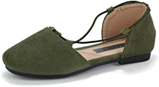 Girl's Sandals Mary Jane Shoes with Bowknot Flats