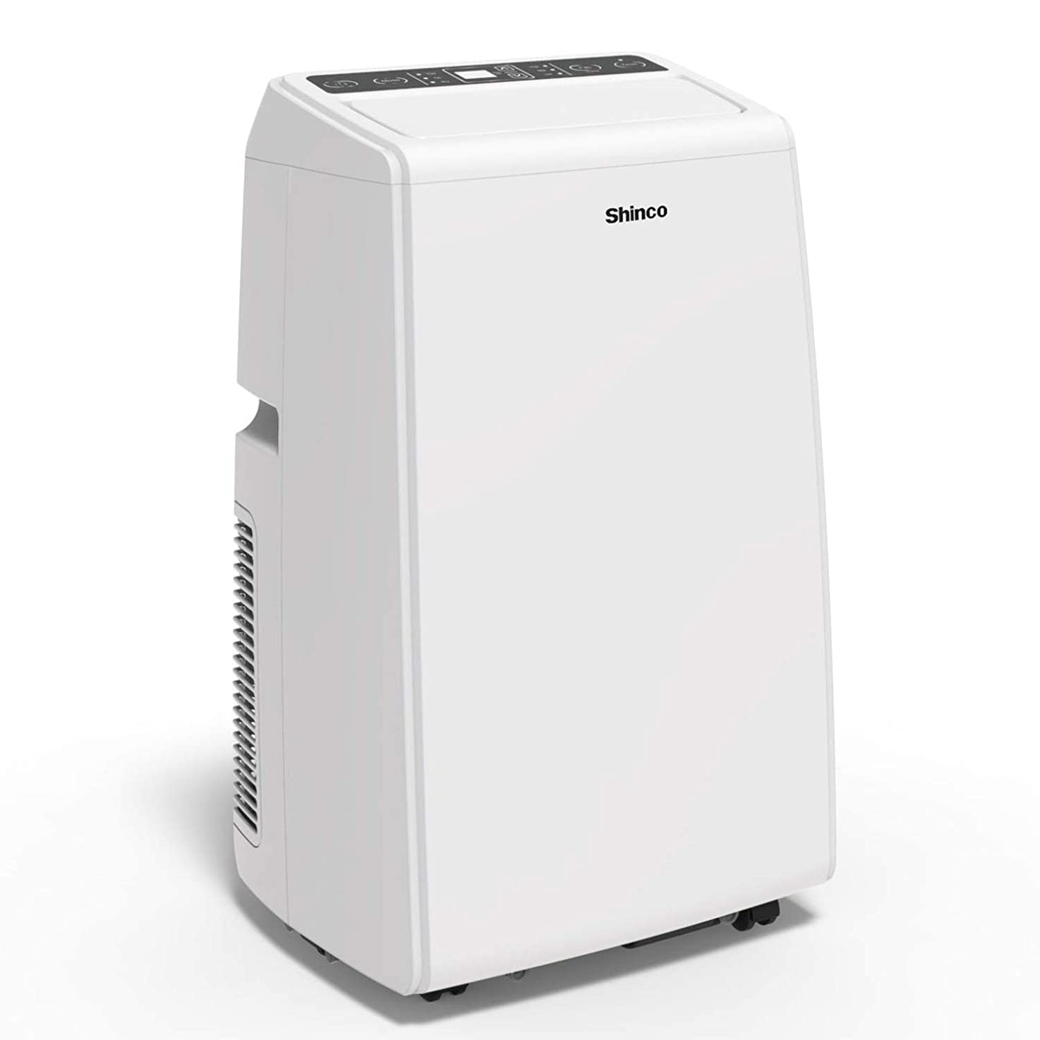 Shinco SPS5-12C 12,000 BTU Portable Air Conditioner Cool Fan Quiet Dehumidifier for Rooms Up to 400 Sq.Ft. LED Display, Remote Control, White vzlnbdfytgqyt6