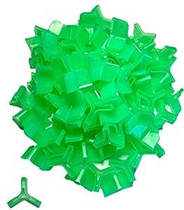 Al's Goldfish Lure Co American Made Hook Bonnets by AL's Goldfish - Medium (Green) - 100/Pk