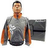 Ambu Man I Trainingspuppe mit 5 Gesichtsmasken, 100 Luftbeuteln und Tragetasche