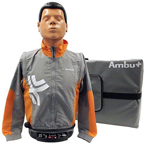 Ambu Man Instrument Trainingspuppe mit 5 Gesichtsmasken, 100 Luftbeuteln und Tragetasche