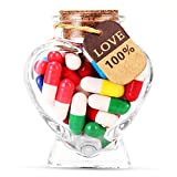 Capsule Letters Message in a Bottle - Cute Things Gifts for...