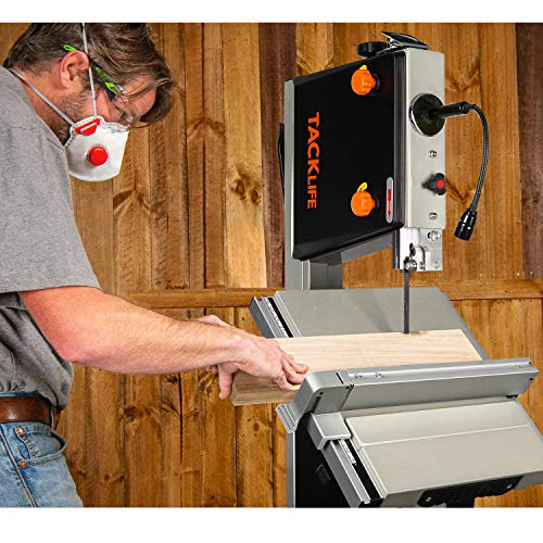 Band Saw in Use