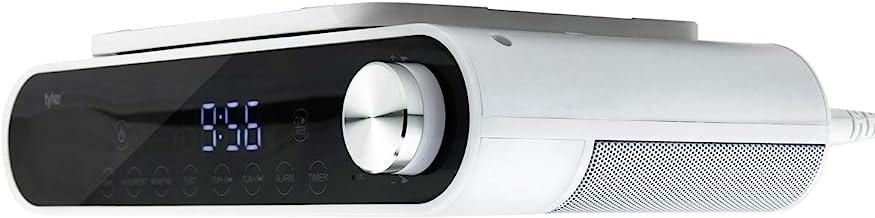 Tyler Bluetooth Under The Cabinet Universal Wireless Music System, Kitchen Clock Radio,..