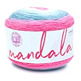 Lion Brand Yarn 525-201 Mandala Yarn, Unicorn, 1-Pack