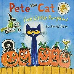 Pumpkin Books for Kids - Pete the Cat Five Little Pumpkins