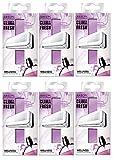 Areon Clima Fresh Ambientador Casa Bienestar Púrpura Aire Acondicionado Original Perfume Hogar Salón Habitación Oficina Tienda Duradero Moderno Olor ( Wellness Pack de 6 )
