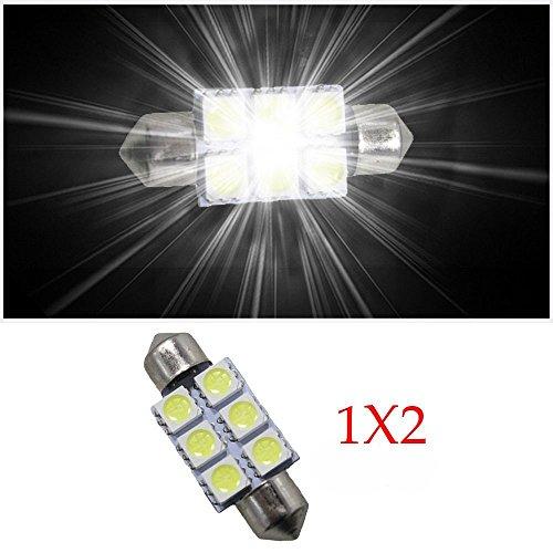 Muchkey C5W SV85?839mm indicatore LED senza errori interni festone lampadine per per per per -Benz per per Bianco