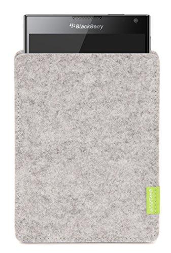 WildTech Sleeve für BlackBerry Passport Hülle Tasche - 17 Farben (Handmade in Germany) - Hellgrau