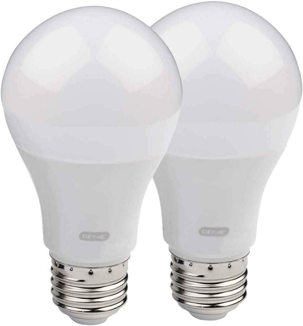 Genie Gledb2 R2 2 Pack Garage Door Opener Led Light Bulb 4000k Amazon Com